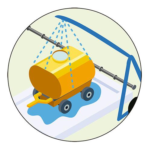 Limpieza productos fitosanitarios